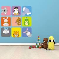 9 Cute Animals Peek into Baby's Room