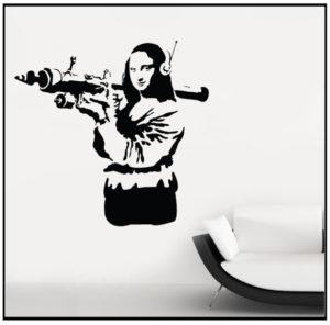 Banksy Arms Dealer Mona Lisa