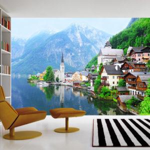 Austrian-Alpes-wall-mural