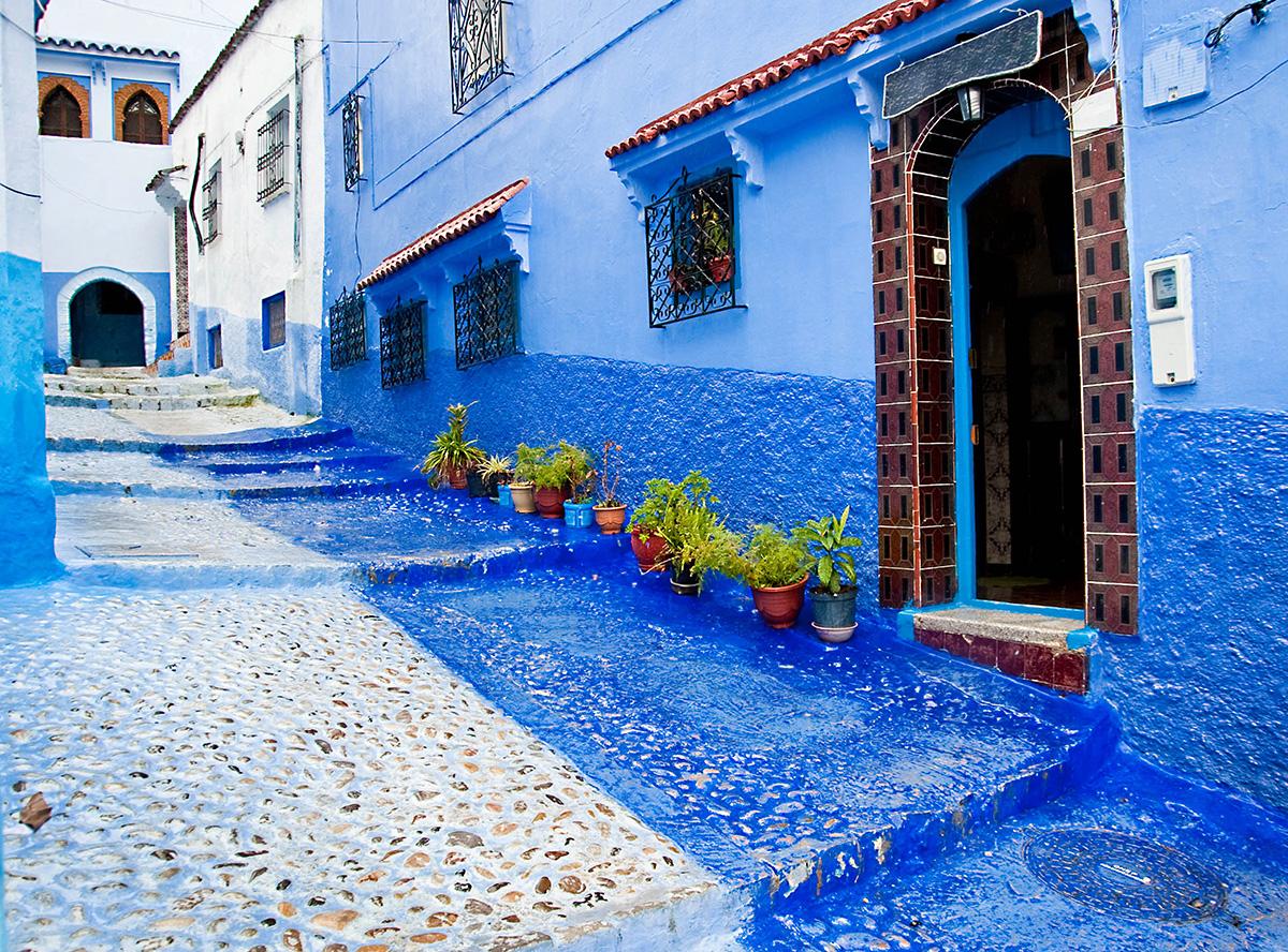 Morocco doorway wall mural